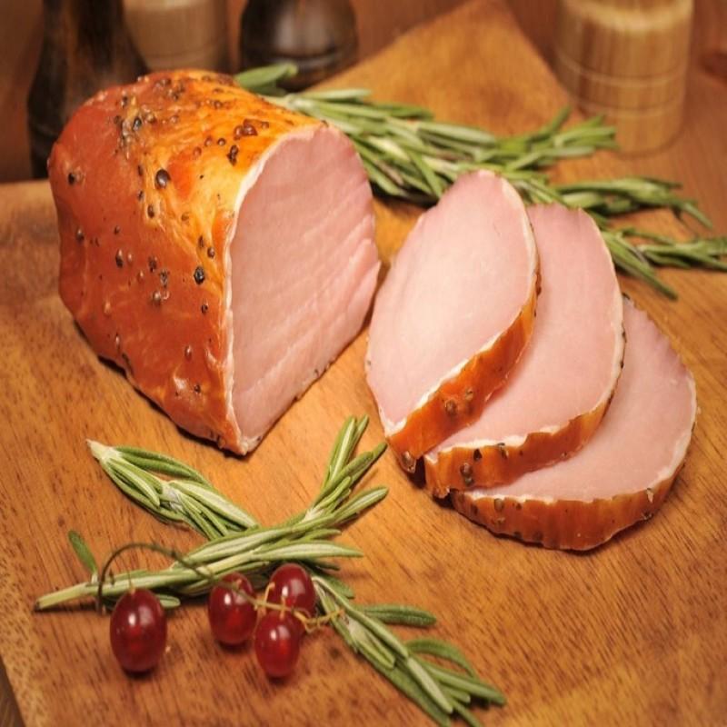 Варено-копченое мясо свинины