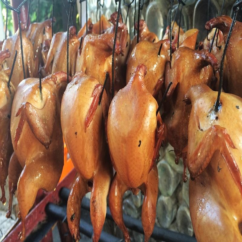 Копченое мясо птица