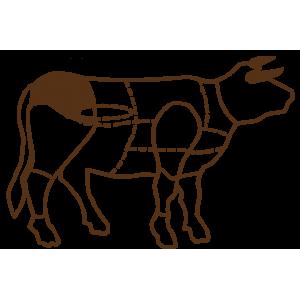 Седалищная говяжья мышца. Мякоть