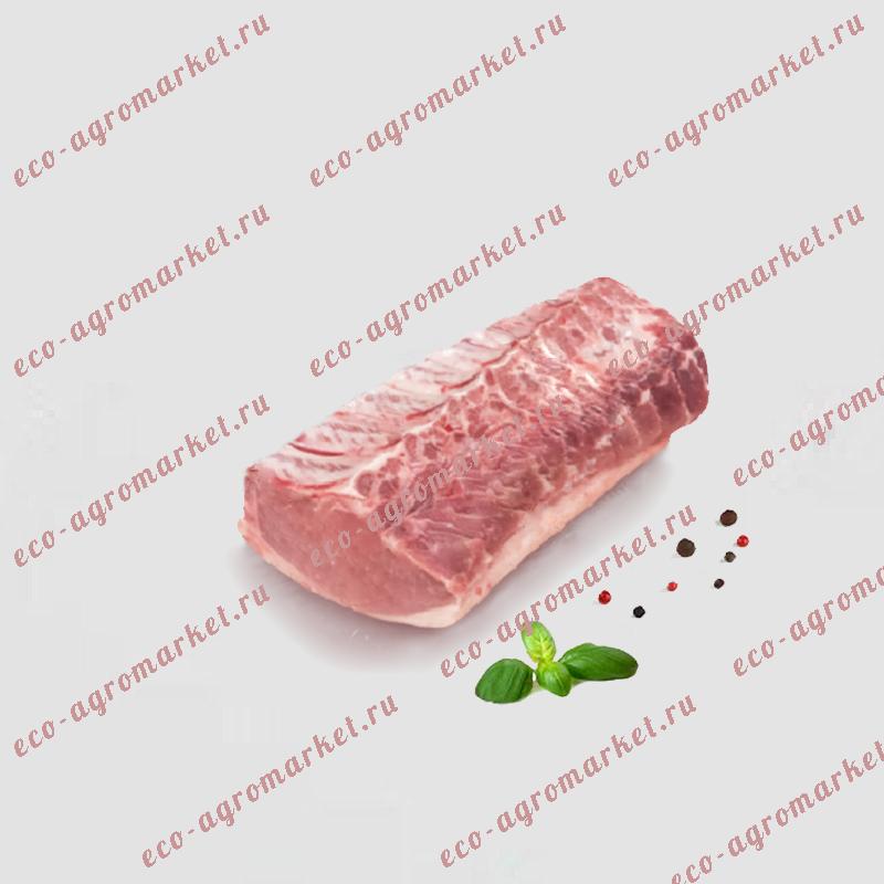 Отруб свиной корейки со шкурой