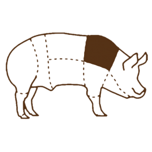 Лопатка свиная без кости