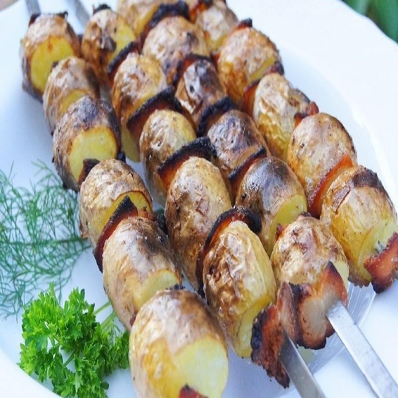 Картофель с салом 250р