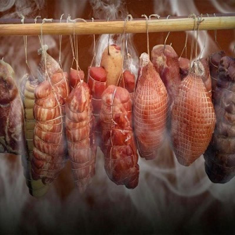 Копченое мясо под заказ (натуральное копчение)